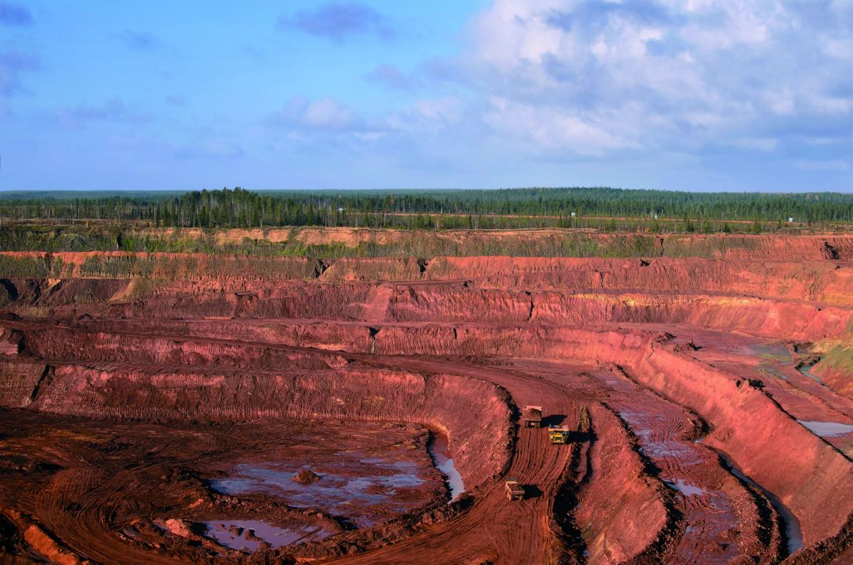 Dewatering a Diamond Mine